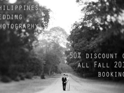 The Manila wedding photographer fall super special