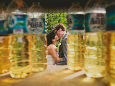 Love amid the petrol bottles