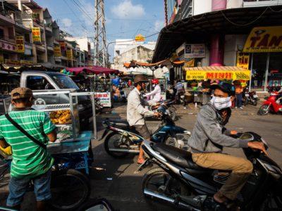 Vinh Long market, Mekong Delta, Vietnam