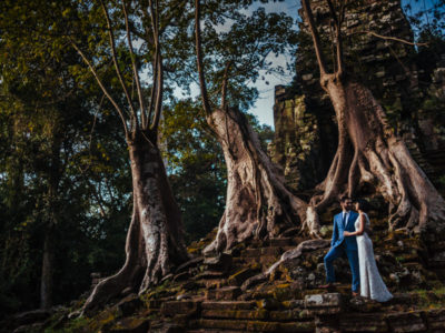 Abbey + Ben | Siem Reap portraits and Angkor wedding
