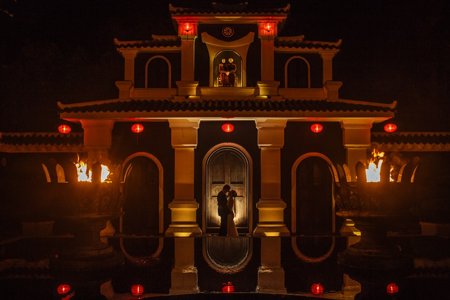 InterContinental Danang Sun Peninsula Resort photo by Vietnam wedding photographer Julian Abram Wainwright