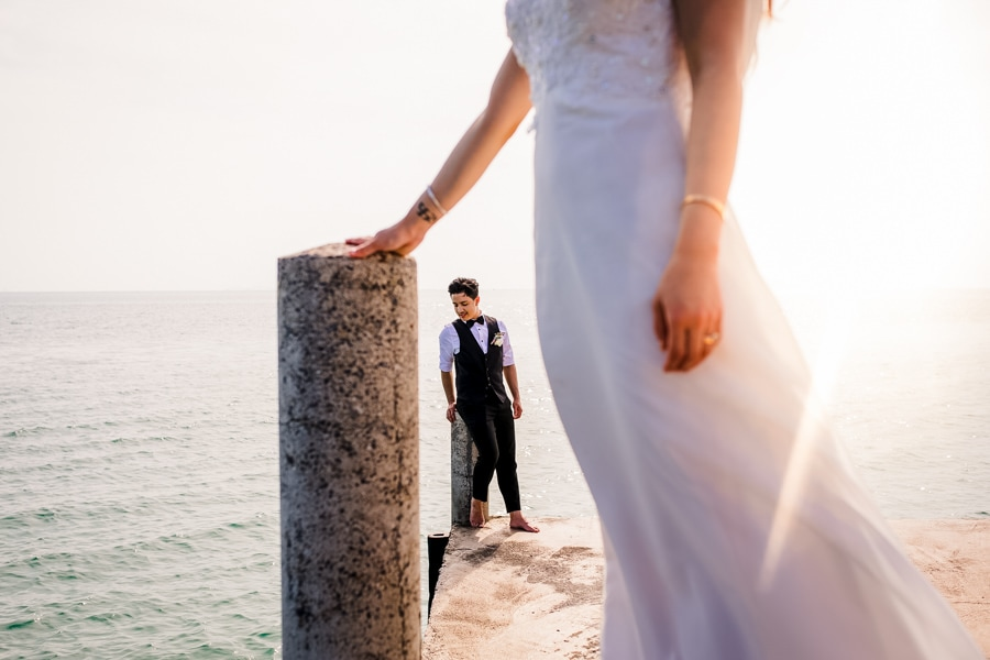 Best Thailand Wedding Photographer photographs a couple in Koh Samui